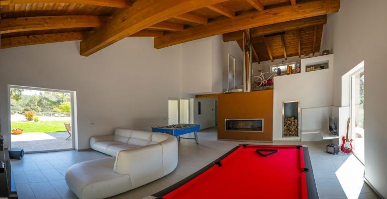 Casa in legno prefabbricato Terni di L.A.COST srl - interni