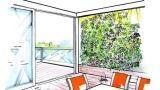 Muri vegetali per esterni e interni