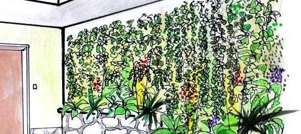 Giardino verticale come progettarlo