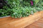 Giardino verticale esterno con fioriera - Sundar Italia