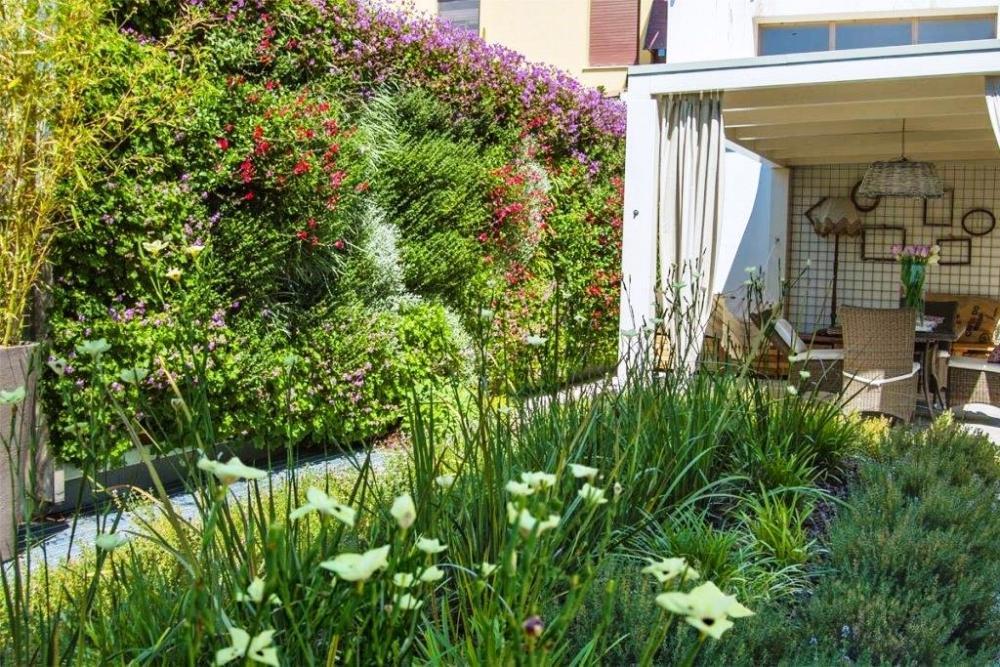 Giardino verticale outdoor dopo - Pellegrini Giardini