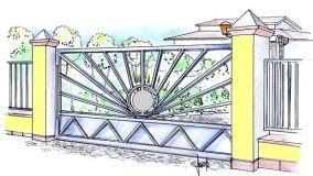 Cancelli in ferro battuto: idee per un outdoor raffinato e funzionale