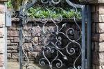 Cancello in ferro battuto pedonale - Officine RUIU