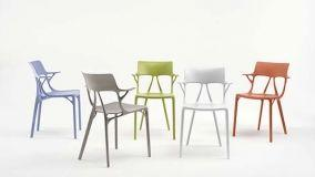 Al Salone del Mobile, Kartell presenta la prima sedia creata da un algoritmo