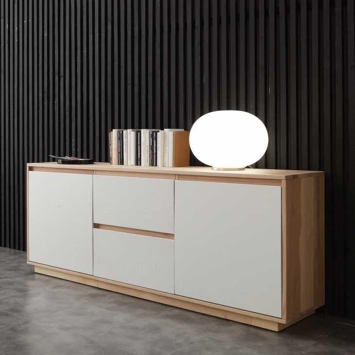 Madia in legno moderna modello Briman di Libreriedesign.com