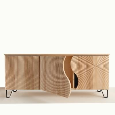 Madia in legno mssello Annar di Libreriedesign.com