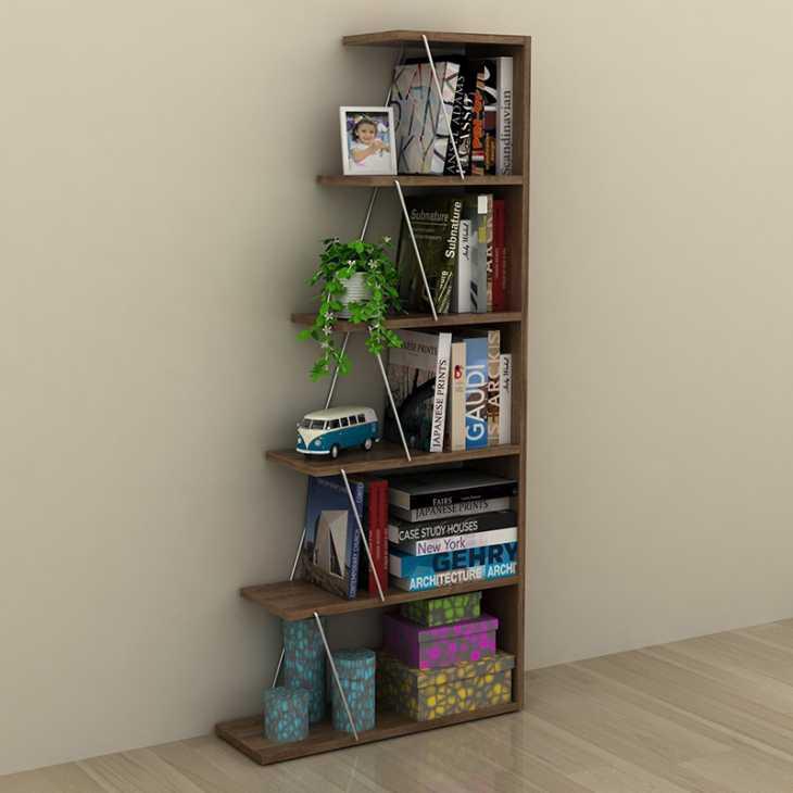 Libreria scaffale ad angolo Gradient - Smart Arredo