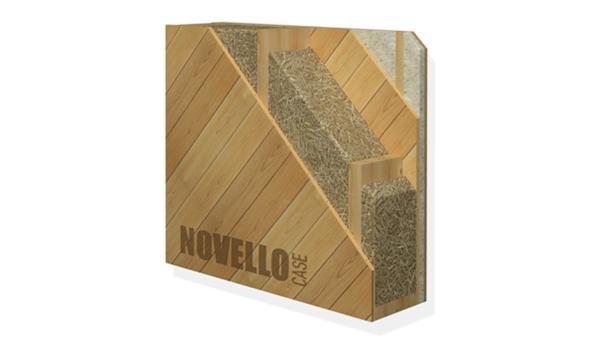 Sistema prefabbricato Platform Frame per le case in legno e paglia, by NovelloCase