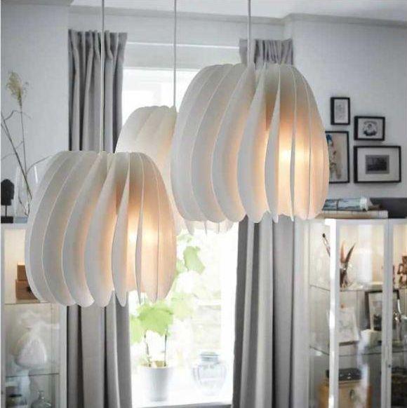 Iluminazione Ikea: lampadario SKYMNINGEN