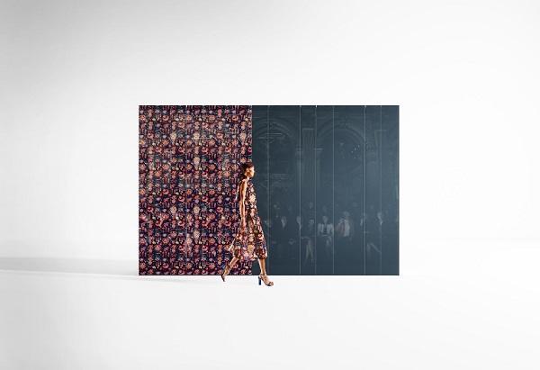 Effetto scenografico per l'armadio N.O.W. Home Couture Sliding