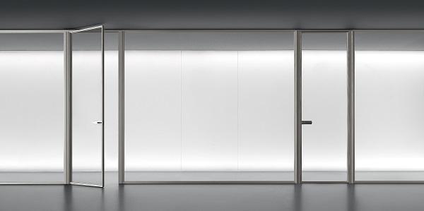 Rimadesio: interparete per cabina armadio Spazio Zen