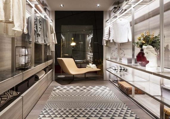 Hangar è la cabina armadio di Lema al Salone del Mobile
