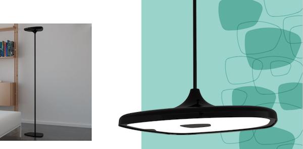 Lampada Flat, disegnata da Giampietro Tonetti per Makris - Euroluce 2019