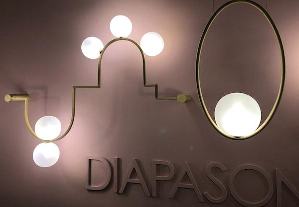 Collezione Diapason, design by Giorgio Soressi per Melogranoblu - Euroluce 2019