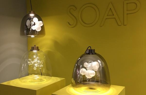 Collezione Soap by Melogranoblu - Euroluce 2019