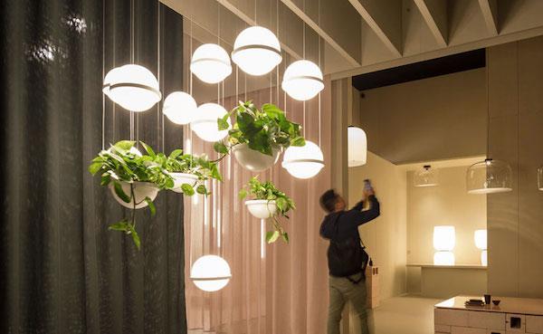 Lampada Palma, design by Antoni Arola - Vibia, Euroluce 2019