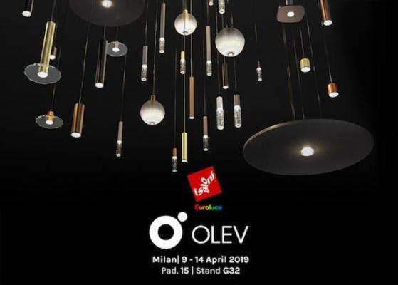 Olev, espositore alla Fiera Euroluce 2019