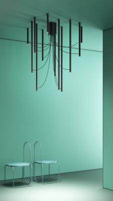 Lampada Ari, design by Marco Spatti & Marco Pietro Ricci - Fabbian, Euroluce 2019