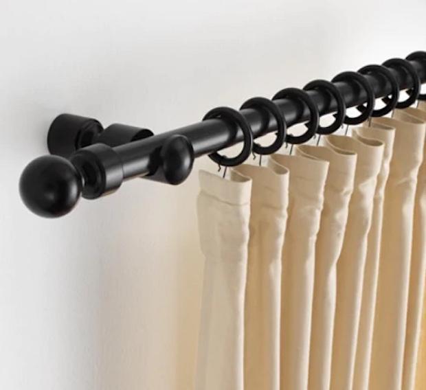 Bastone per tende moderne in legno, da Ikea