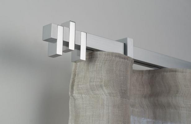 Bastoni per tende moderne dal design originale, da Materya