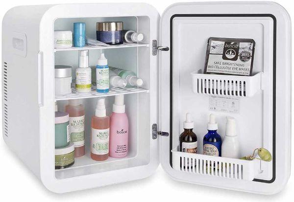 Mini frigo per cosmetici su Amazon