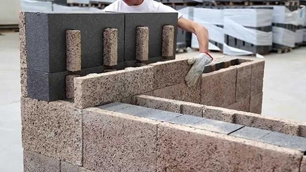 Blocchi legno cemento - Isotex