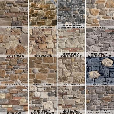 Modelli di pietra ricostruita by Colmef