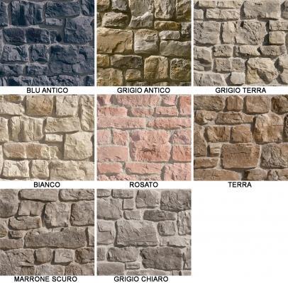 Collezione di pietra ricostruita Santiago di Colmef