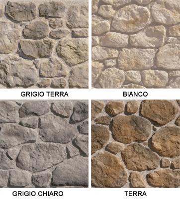 Collezione di pietra ricostruita Teide di Colmef