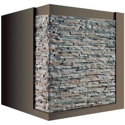 Pannello in pietra ricostruita Rigo 36 di Geopietra