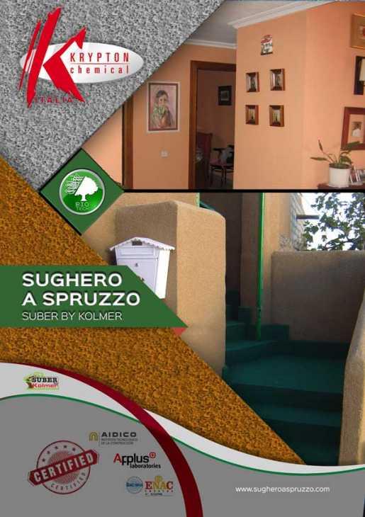 Sughero a spruzzo Suber by Kolmer - Krypton Chemical Italia