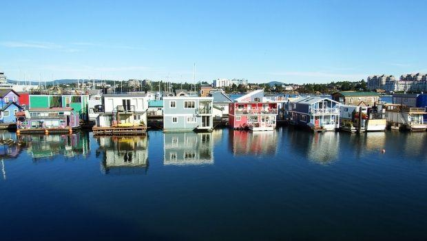 Case galleggianti o houseboat: abitare immersi nella natura