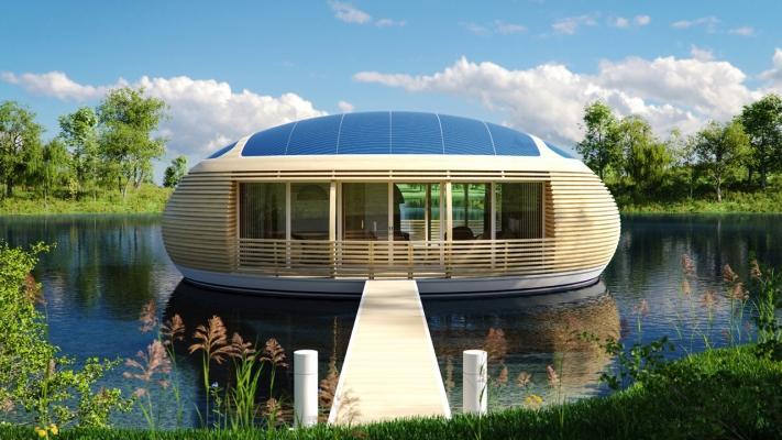 Casa galleggiante WaterNest, by Giancarlo Zema Design Group