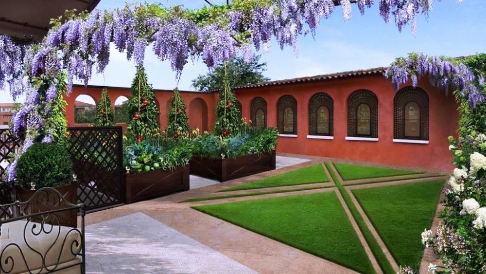 Giardino in terrazza interna - Officina del Verde