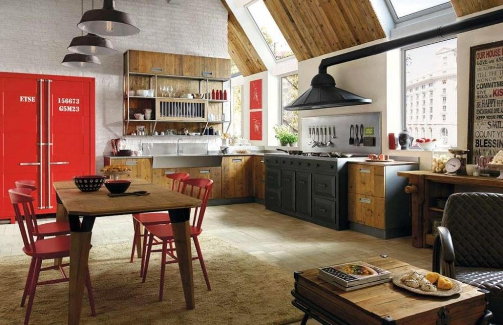 Zona living  - Marchi Cucine Lab40