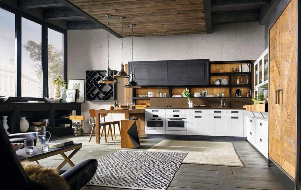 Living contemporaneo - Marchi Cucine Lab40
