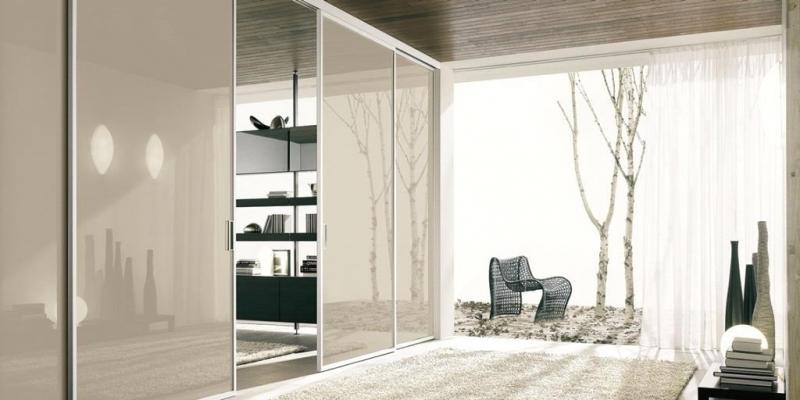 Ricavare una camera in più con scorrevoli vetro Bertolotto