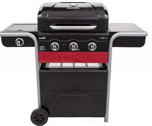 Barbecue combinato Char-Broil Gas2Coal, da Amazon