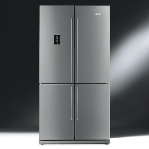 Il frigo americano FQ60XPE, da Smeg
