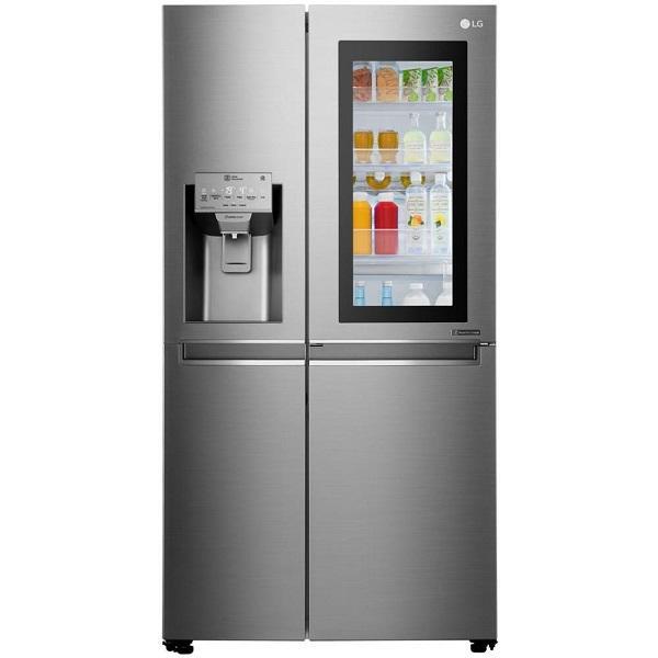 Il frigo americano Lg Instaview Door-in-Door GSX960NSAZ