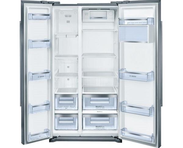 Il frigorifero side by side KAN90VI20, da Bosch