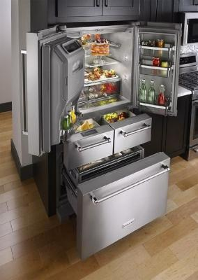 I frigoriferi americani sono molto capienti, da bestbuy.com
