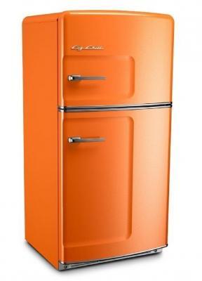 Un frigo americano colorato, da bigchill.com