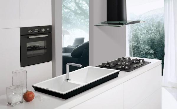 Lavabo per cucina Dogma - Design by Elleci