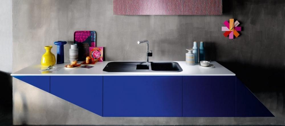 Lavabo per cucina prodotto da Franke dotato di vasca per l'umido