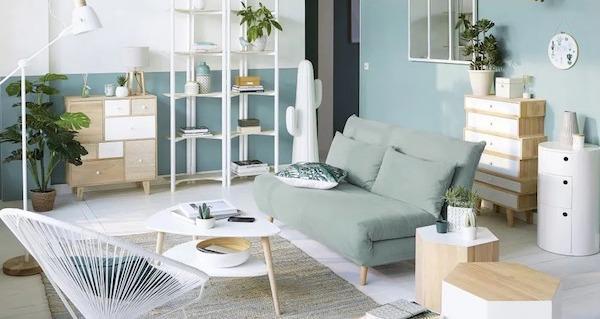 Arredare un appartamento seminterrato - Collezione Spring by Maisons du Monde