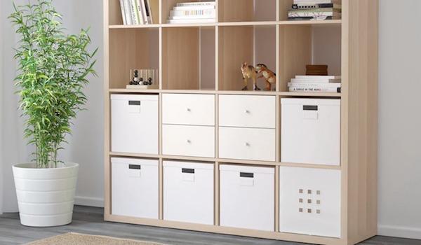 Arredare la cantina con scaffali design - Kallax, versione grande byIKEA