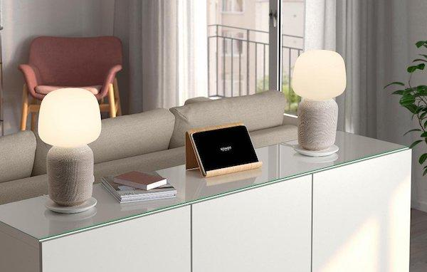 Lampada-speaker Symfonisk - Foto e design Ikea e Sonos