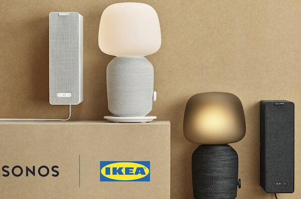 Impianto audio smart di design, Symfonisk by Sonos e Ikea