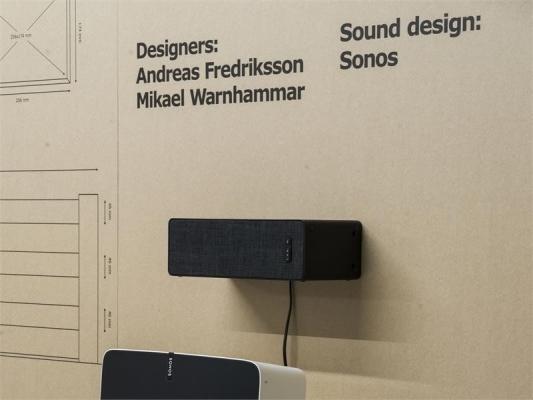 Sistema smart audio Symfonisk Bookshelf - design e foto di Ikea e Sonos
